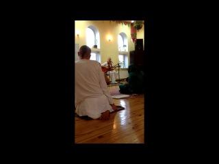001_Джая Шачинандана Гаура-Хари!_Ната дас в храме ИСККОН (Харьков сентябрь 2013)