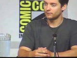 Tobey Maguire discusses Spider Man 3 at Comic Con (2006)