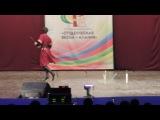 Студенческая Весна - Алания 2014, СОГУ, Народный танец соло, Руслан Томаев - Танец с кинжалами