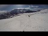 Самый крутой горнолыжник в Доломитовых Альпах!