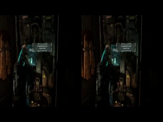 Dead Space 3 в 3D[серия6] прохождение в кооперативе на pc YT3D