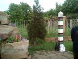 4.05.2014. г. Лутугино Луганская обл. возложение цветов в память погибшим в Одессе.