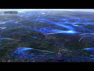 Европейский воздушный трафик за 24 часа == Кормушка Уникальное Фото Видео Приколы Гифки ==