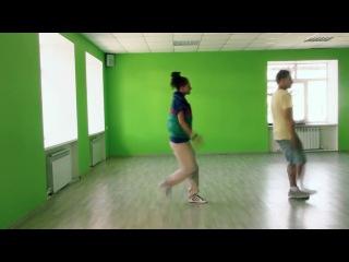 Видео урок танца на песню  Дискотека Авария - Недетское время