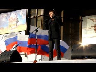 Выступление председателя Воронежского регионального отделения ПВО Зюзина А.И. на митинге