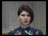 Светлана Григорьева дарит от Русского радио подарок победителю конкурса