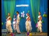 Радуга, Мексиканский танец 'Авалюлька', народный танец, ансамбль, старшая группа