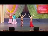 nagada sang dhol and ram chahe leela dance performance by arina and olga