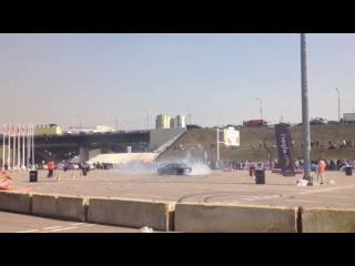 Дрифтинг с Московского Тюнинг Шоу 2014