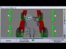 Стенд развал-схождение марки Hunter с технологией 3D.