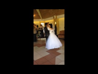Постановка першого весільного танцю від студії Щастя