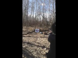 ИЖ 79-9Т (втулка, патрон 60 Дж) стрельба на кучность