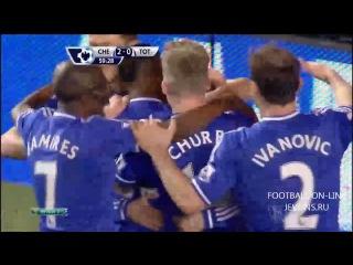 Челси - Тотенхем 4-0 (8 марта 2014 г, Чемпионат Англии)
