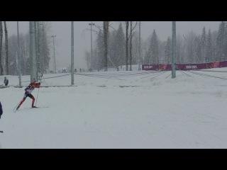 Биатлон масстарт мужчины 15 км. 18.02.2014 Сочи