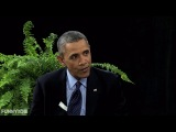 Between two ferns (Barak Obama)