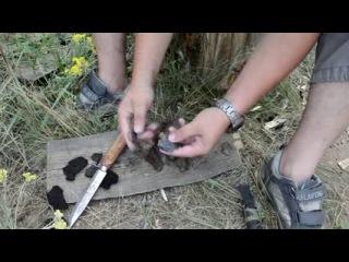 Как сделать трут из трутовика. Часть 2