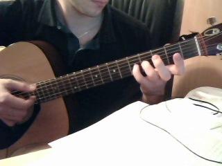 Кавер на Реквием по мечте. Гитара. Акустика.
