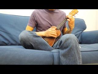 Super Mario theme part ukulele