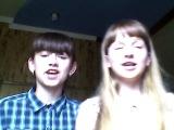 Второе видео вроде норм я и Арина читаем песню