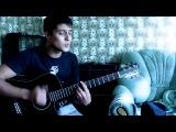 Парень шикарно поёт, игра на гитаре (Дима Билан - Я просто люблю тебя)