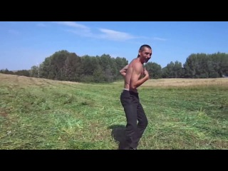 Башкирский мужик зажигает после сенокоса..  всем танцорам на заметку!  ( Музыкальный Клип.) новинка.супер клип 2014г