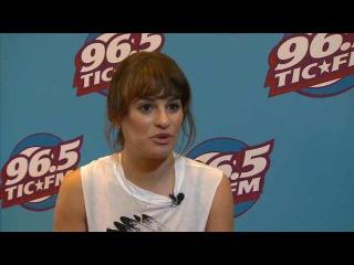 Glee's Lea Michele Talks To Fox CT's Jim Altman