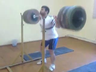 Aghasi Aghasyan 85kg/260 kg ( чемпион Армении 2014 года)