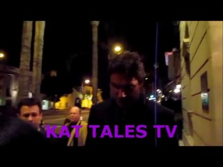 Dan Feuerriegel and Manu Bennett shot by KAT TALES TV