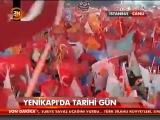 Arslanbek Sultanbekov AKP İSTANBUL MİTİNGİNDE DOMBRA ÇALIYOR