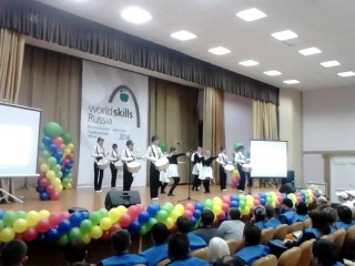 World skills Russia Тамбов Выступление Девушек барабанщиц