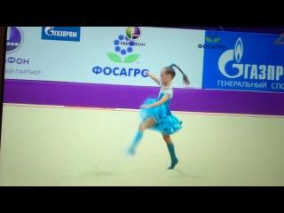 Тингайкина Владлена,Гран-при Москва,2014 год.