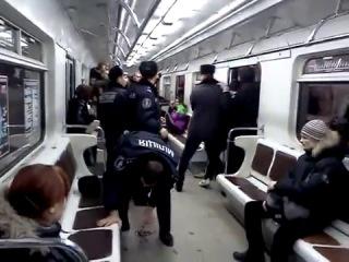 Драка в метро Tabmur Rec ОколоФутбола