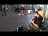 Уличный гитарист-виртуоз поляк Мариуш Голи / Street virtuoso guitarist Mariusz Goli, Poland