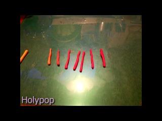 Эффект перехода цвета на полимерной глине БЕЗ ПАСТАМАШИНЫ