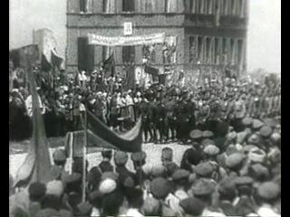 Фрагмент из фильма Руины стреляют... (СССР, Беларусьфильм, 1970-1972)