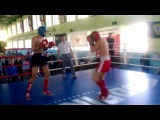 финальный бой Михеев Илья лоу-кик 3 раунд