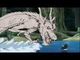 Рисованный дракон