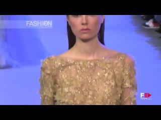 Неделя высокой моды в Париже. Elie Saab, весна-лето 2014