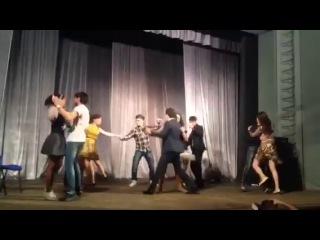 Стиляги- Шаляй валяй (cover by- Ислам Кишев и Аниса Муртаева) день театра, СКГИИ, смех, порно, новости, прикол, дети.