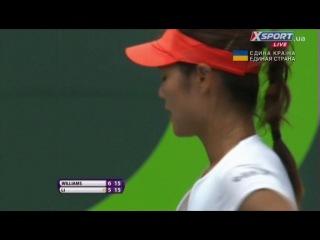 Теннис / Турнир в Майами / Финал / Женщины / Серена Уильямс - Ли На