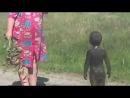 Контакт с пришельцами НЛО в деревне Уникальные редкие кадры)) Прикол с детьми