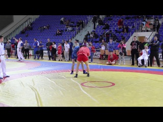 Самбо. До 74 кг. Заур Азизов (REAL STEEL). Финал.