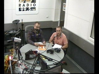 Алексей Ананьев и Олег Пикунов в гостях у радио Нижний Новгород