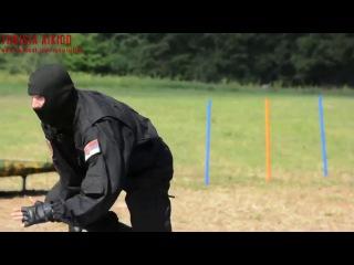 БОЕВОЕ АЙКИДО - РУКОПАШНЫЙ БОЙ демонстрирует спецназ Сербской полиции