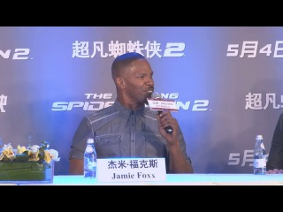 The Amazing Spider-Man 2 Press Conference in Beijin