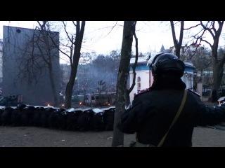 20.01.2014 Бойцы ТИГРа ВВ МВД Украины в обороне