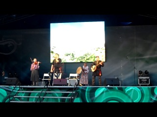 Выступление на Бажовском фестивале 2014 г. в рамках конкурса «Этно-Стайл»