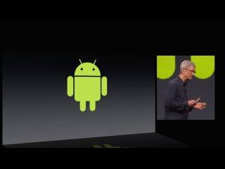 Тім Кук про Андроїд