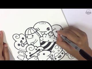 Doodle - дудлинг_рисуем добрых веселых монстров2