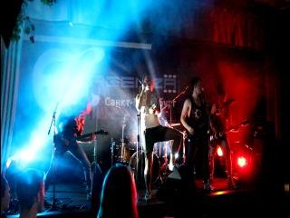 Эligor - Riot in everyone(Crashdiet cover) - Live at Avrora Concert Hall - Festival Emergenza 21 June